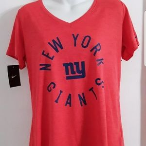 Nike New York Giants Orange womens shirt